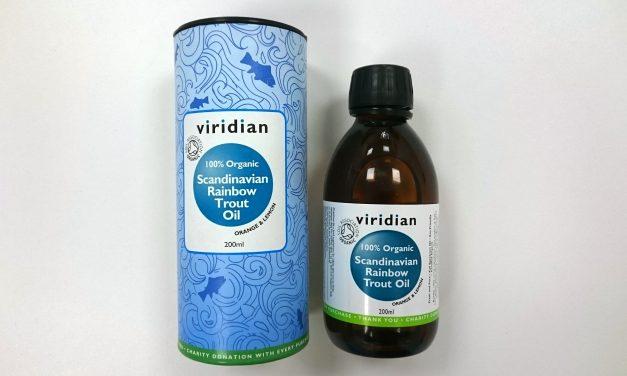Viridian – 100% Organic Scandinavian Rainbow Trout Oil