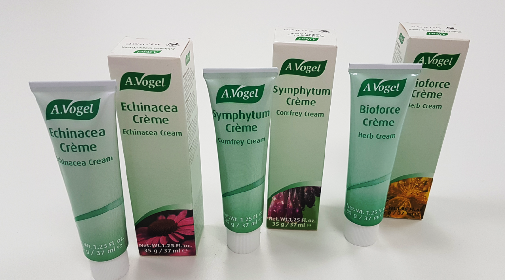 A.Vogel – Trio of Herbal Creams