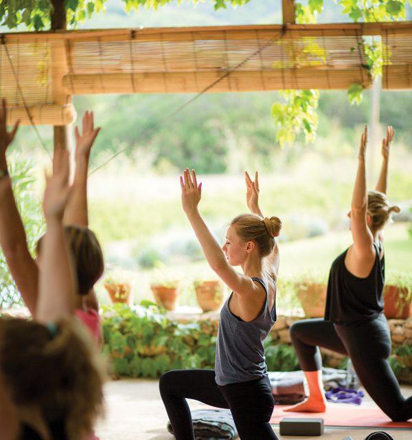 Retreating to wellness