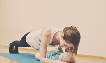 Yoga training for mums