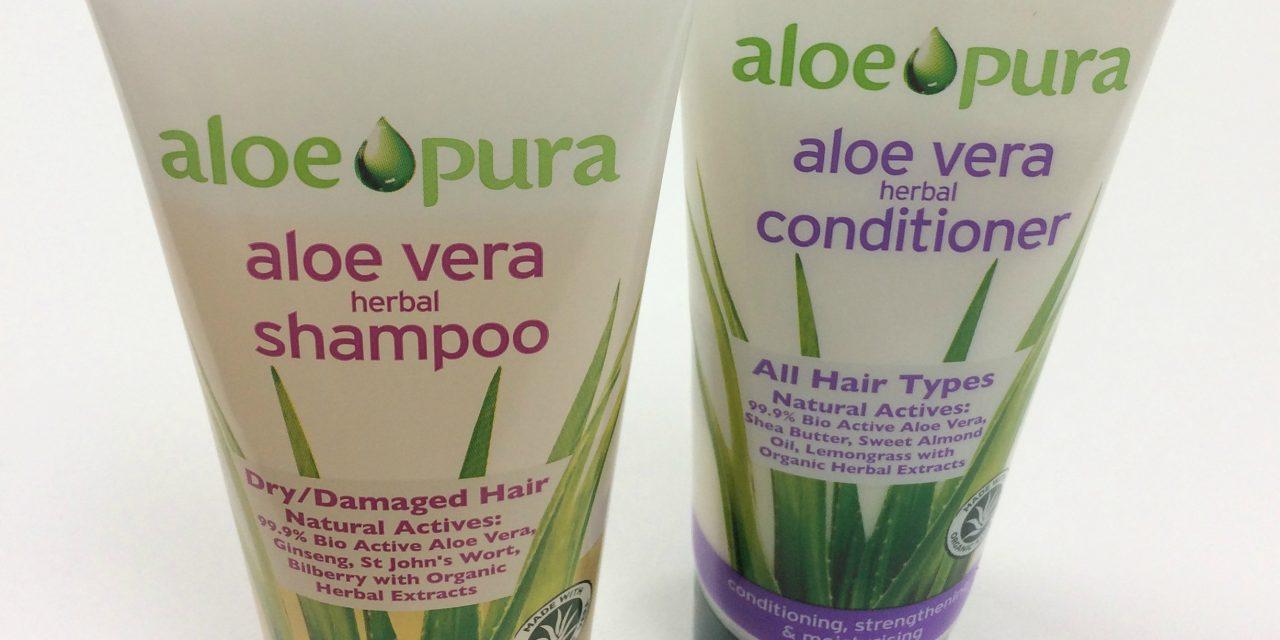 Aloe Pura – Aloe Vera Shampoo & Conditioner