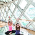 Take your yoga to new heights