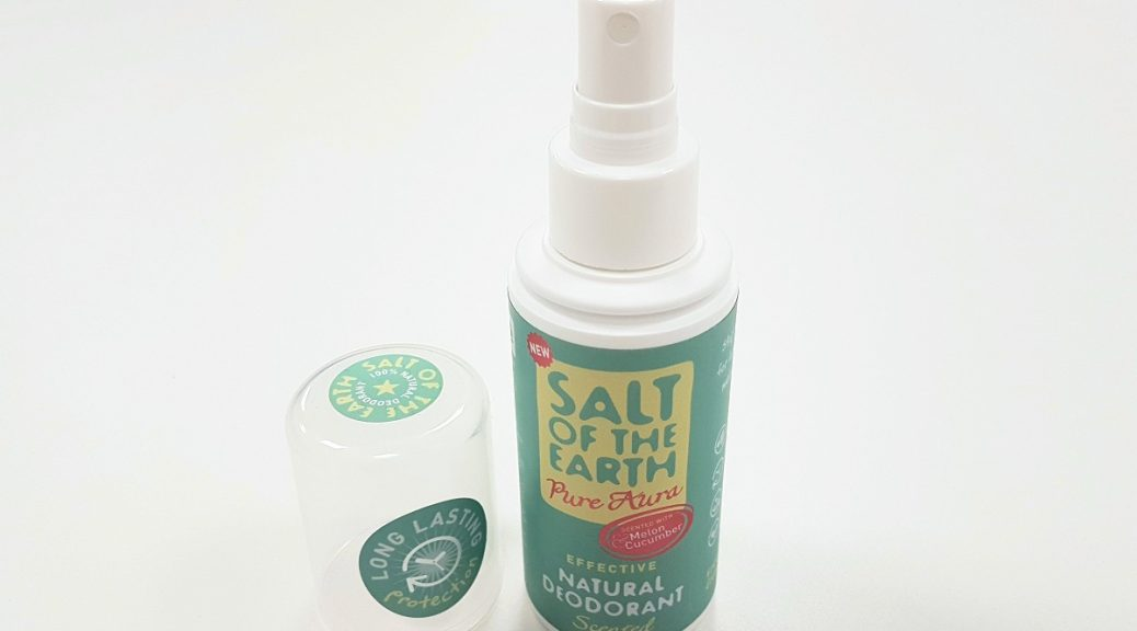 SALT OF THE EARTH – PURE AURA NATURAL DEODORANT