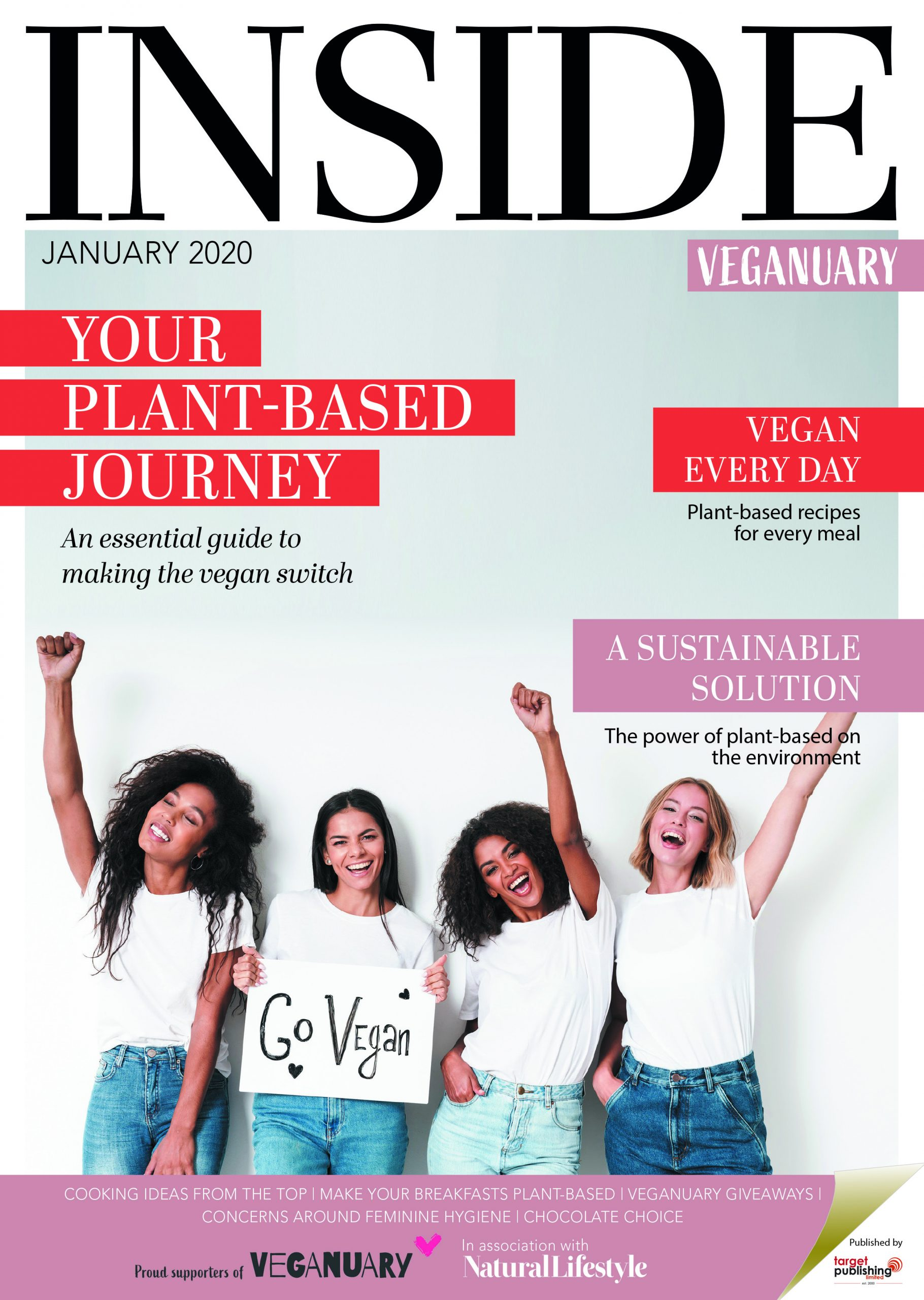 Inside Veganuary out now