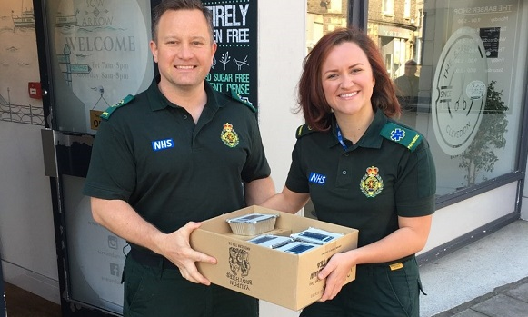 Health shop gives back to NHS staff