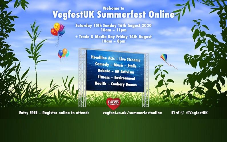 A virtual vegan celebration