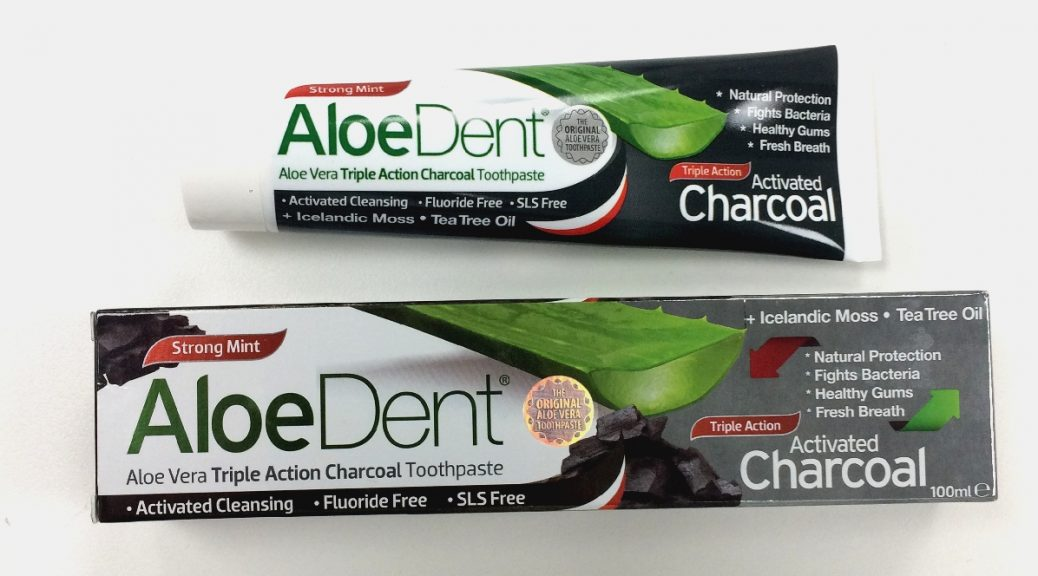 OPTIMA – ALOE DENT ACTIVATED CHARCOAL TOOTHPASTE