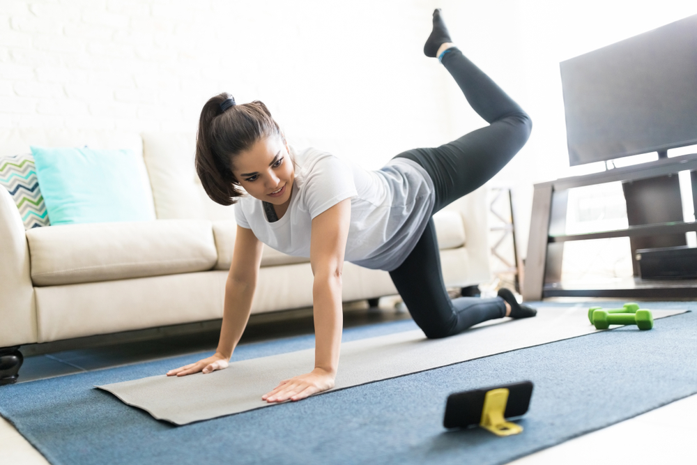 Ways to workout at home