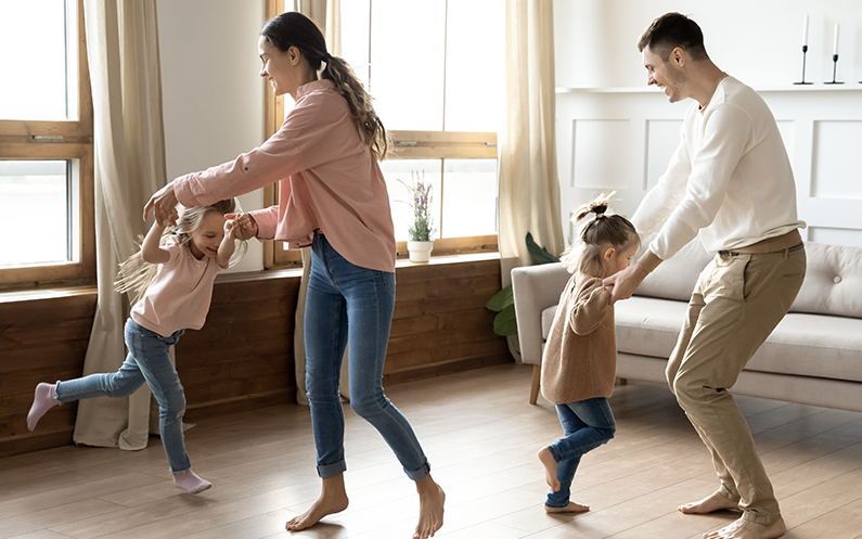 Families adopt new healthy routines this autumn, poll finds